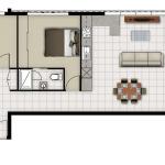 Unit 11 and 20 floorplan