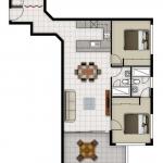 Unit 2 floorplan